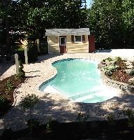 Pleasure Island Fibergl Pool And Spa In Rapid City Sd